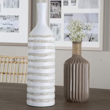 Dax f jarra resina 11x39 branco