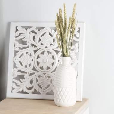 Trip vaso porcellana bianco