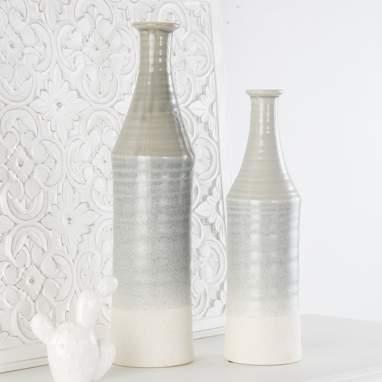 Iker jarra porcelana cinza