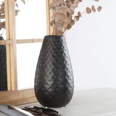 Vene jarra grés losangos mate/preto