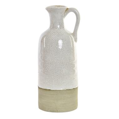 Doro white ceramic vase