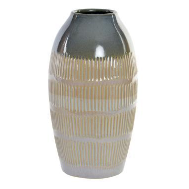 Uteh blue ceramic vase