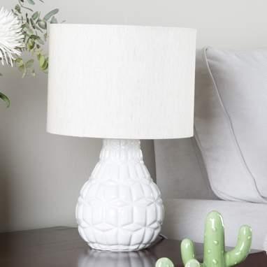Drea lampe 25x38 blanche