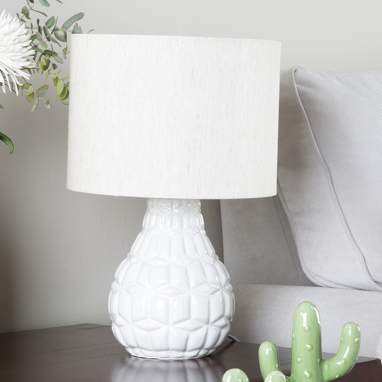 Drea  lampara  25x38 blanca