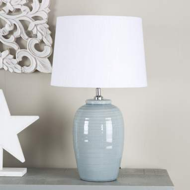 Fera  lampara gres 30x51 azul