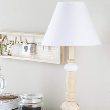 Gori  lampara madera 25x52  natural