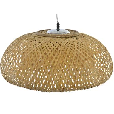 Elyp natural bamboo lamp