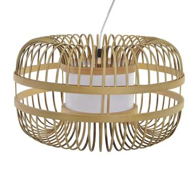 Nojis natural bamboo lamp