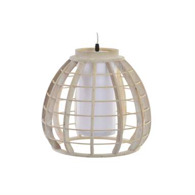 Nani white decape wood lamp