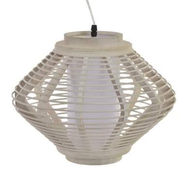 Inam lampada bambù bianco