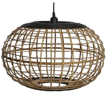 Erj black bamboo lamp