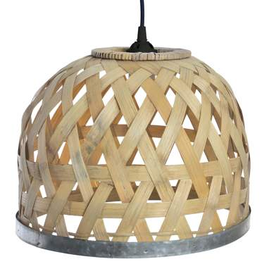 Art bamboo lamp