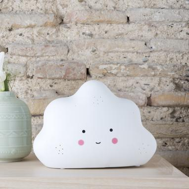 Lawr cloud porcelain table lamp