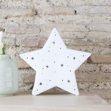 Larw star porcelain table lamp