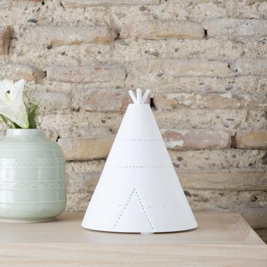 Aesra porcelain tipi table lamp
