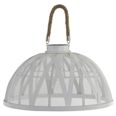 Taro lampara techo led bambu 43,5x43,5x35 3xaa trenzado