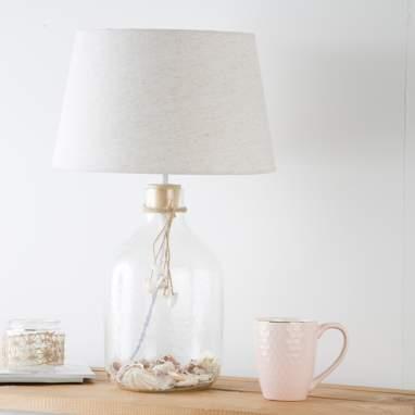 Bris lampada da tavolo cristallo-conchiglie
