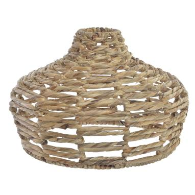 Garr plaited metal/fibre lampshade