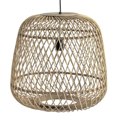 Gret natural rattan lamp