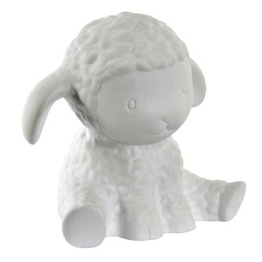 Wito lampara led sobremesa ovejita porcelana