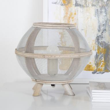 Aster candeeiro de mesa esfera