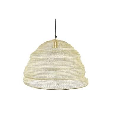 Wend lampada a sospensione rete dorata