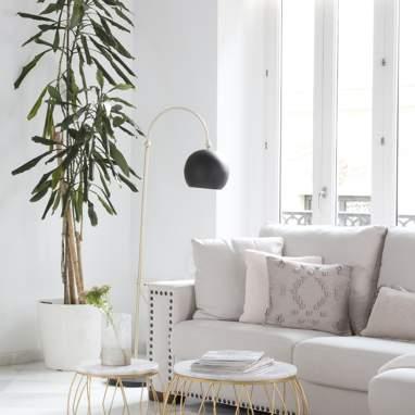 Saps metal aluminium floor lamp