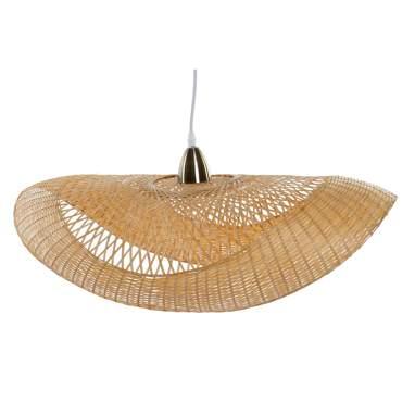 Boly lampara techo bambu 70x40x22 pamela natural