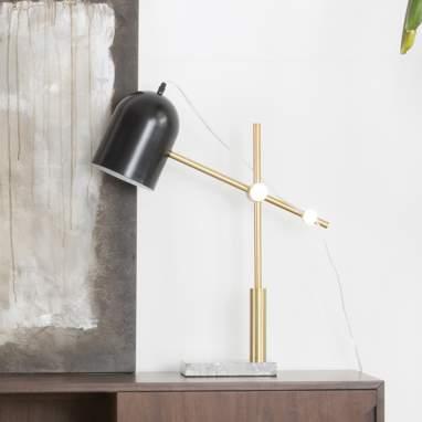 Octo metal adjustable lamp