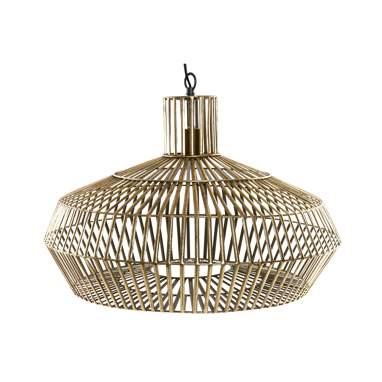 Abbay lampada a sospensione metallo dorato
