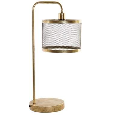 Abboy lampara sobremesa met al 22x31x61 22 dorado