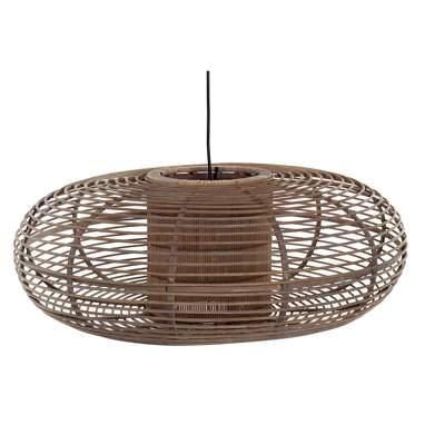 Calt lampara techo bambú natural