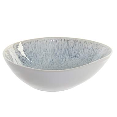 Brem blue varnished ceramic bowl