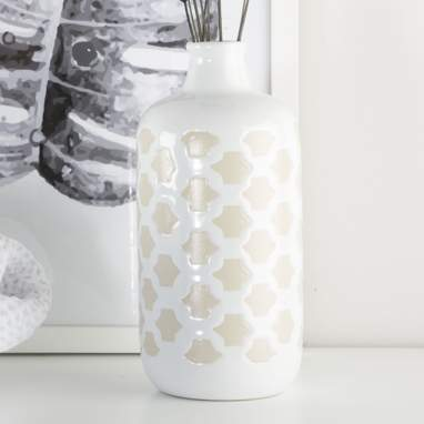 Tanuy vaso porcellana 9x13 bianco
