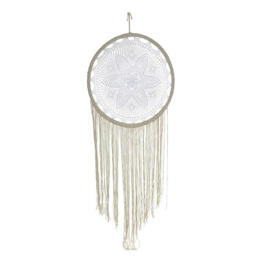 Erar cream cotton linen dreamcatcher