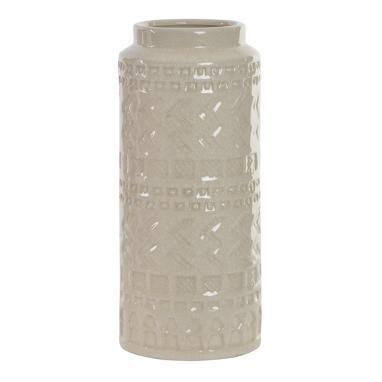 Jova jarron porcelana craquelado   34 h