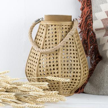 Trecu fibre rope candle holder