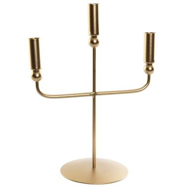 Deyl metal candle holder 3 arms