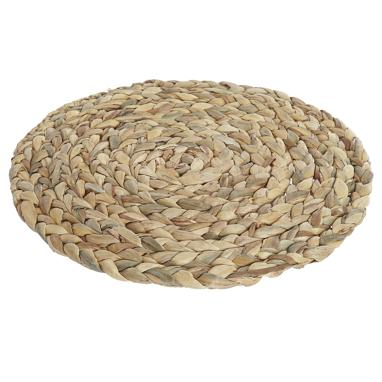 Favy mantel individual fibra natural marron