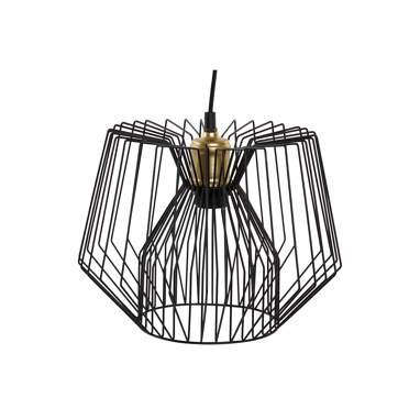 Work lampara techo metal 30x30x23 negro