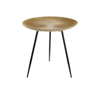 Hawa golden metal mdf auxiliar table