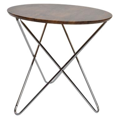 Picru natural wood auxiliar table