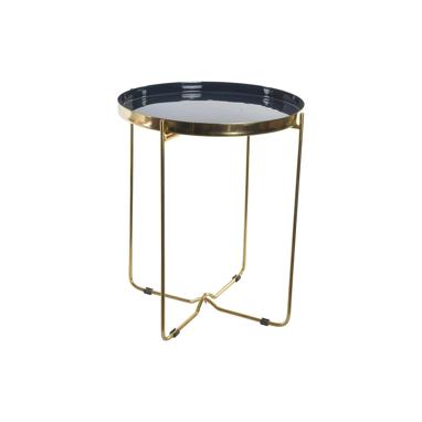 Arta black lacquered auxiliary table