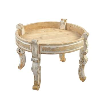 Homy natural mango auxiliar table