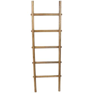 Bawh brown ladder towel rack