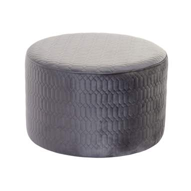 Lead grey polyester footrest