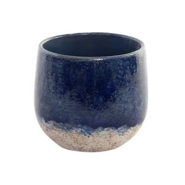 Norh blue ceramic  flowerpot stand