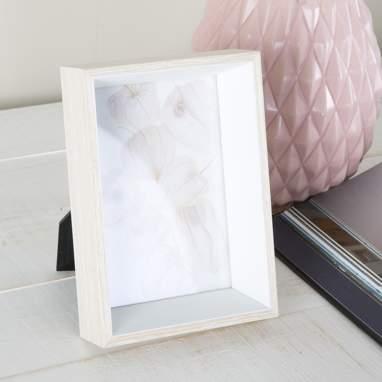 Liub cadre photos en bois blanc 10x15