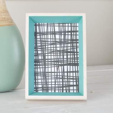 Liub cadre photos en bois vert 10x15