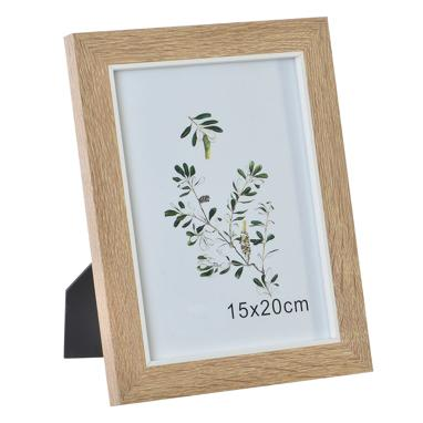 Lesr natural brown wood photo frame 15x20
